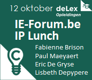 IEFbe IP Lunch 12okt2017
